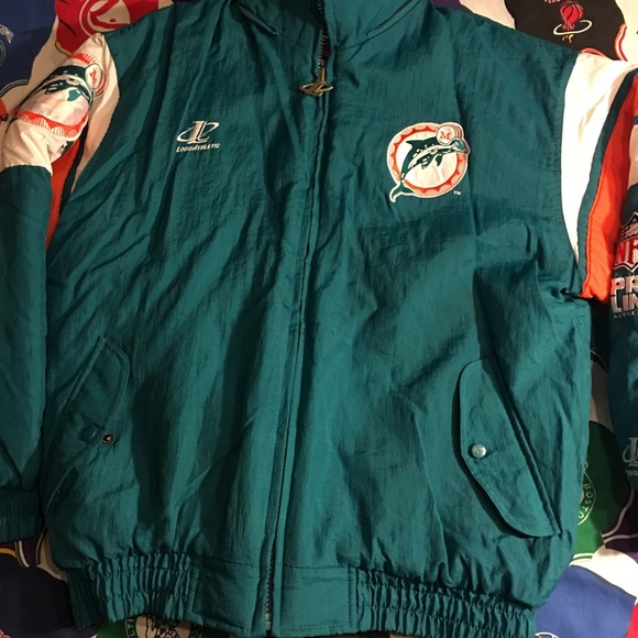 "164d2ef5b logo athletic Other - Vintage Logo Athletic ""Miami Dolphins"" puffer coat"